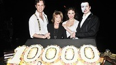 Kyle Barisich, Trista Moldovan and Hugh Panaro welcome Gillian Lynne back to the Majestic Theatre stage, where she choreographed Phantom more than 24 years ago.