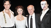 Phantom of the Opera – 10,000 Performance – Kyle Barisich – Trista Moldovan – Joe Benincasa – Hugh Panaro