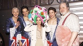 It wouldn't be Priscilla without the celebrity guest donning eye-popping headgear! Gloria Estefan takes her turn alongside Tony Sheldon, Will Swenson, Nick Adams and Adam LeFevre.