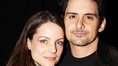 What a great-looking couple! Actress Kimberly Williams enjoys a Broadway night out with her husband, Brad Paisley.