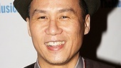 Tony winner (and dad) B.D. Wong (M. Butterfly) supports the cast of Rated P on opening night.
