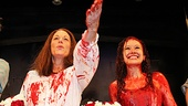 Carrie- Molly Ranson and Marin Mazzie