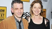 Director David Cromer reunites with his House of Blue Leaves leading lady Edie Falco on opening night of Tribes.
