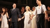Evita- Elena Roger, Rachel Potter, Ricky Martin and Michael Cerveris