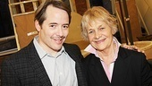 Nice Work If You Can Get It  Rehearsal  Matthew Broderick  Estelle Parsons