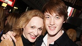 Jesus Christ Superstar opening night  Jan Maxwell and son