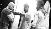 Streetcar Named Desire rehearsal  Jacino Taras Riddick  Blair Underwood  Wood Harris