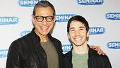 Speaking of film favorites, funny guy Justin Long is excited about making his Broadway debut alongside Jeff Goldblum.