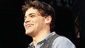 Jeremy Jordan basks in the opening night love.