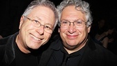 Newsies  Opening Night  Alan Menken  Harvey Fierstein