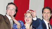 Jefferson Mays, Kerry Butler and Eric McCormack give a nod to their fellow castmates.