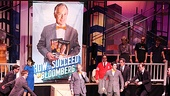 Bloomberg and How to Succeed Cast  Michael Bloomberg  Nick Jonas (cast with book)