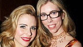 Kerry Butler spends family time at the opening night party with her sister, Susie Smith.