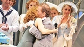 Bernadette Peters makes a surprise appearance at Greys 80th birthday bash, and he&#39;s obviously thrilled to see her!