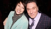 Paige Davis (TVs Trading Spaces, Chicago) enjoys the party with her husband, Patrick Paige (Spider-Man).