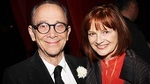Joel Grey strikes a pose with fellow Cabaret alum Blair Brown, who played Fraulein Schneider in the 1998 Broadway revival.