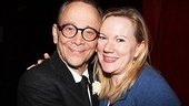 Joel Grey goes cheek-to-cheek with Anything Goes director/choreographer Kathleen Marshall (who is preparing for the opening of Nice Work If You Can Get It).