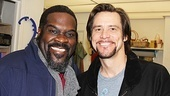 Jim Carrey at Porgy and Bess  Jim Carrey  Phillip Boykin
