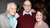 Neil Simon is surrounded by his Broadway Bound stars and current Lyons headliners Dick Latessa and Linda Lavin.