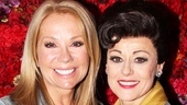 Kathie Lee Gifford is in awe of the brilliant performance of Tracie Bennett as Judy Garland.