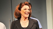 The lady of the hour, Linda Lavin, takes her Broadway bow.