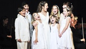 Sound of Music at Carnegie Hall  Laura Osnes  children