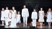 Sound of Music at Carnegie Hall  Laura Osnes  Tony Goldwyn  children
