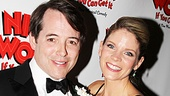 Matthew Broderick and Kelli O'Hara make an adorable onstage couple!