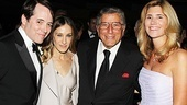 Matthew Broderick and Sarah Jessica Parker celebrate their big night with music legend Tony Bennett and his wife Susan Crow.