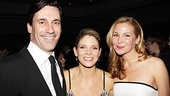 Nice Work If You Can Get It  Opening Night  Jon Hamm  Kelli OHara  Jennifer Westfeldt