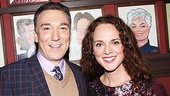 Also on hand to support Patrick Page is Broadway sweetheart Melissa Errico, his co-star in the York Theatre production of Rex. 