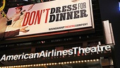Dont Dress For Dinner  Opening Night  marquee