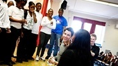 How to Succeed  Nick Jonas School Visit  Nick Jonas  students  teacher