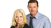 Megan Hilty and Clarke Thorell