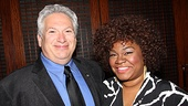 Newsies scribe Harvey Fierstein welcomes Da'Vine Joy Randolph of Ghost to the Tony nominees club.