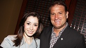 2012 Tony Brunch  Cristin Milioti  Jeff Calhoun