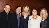 Celebrating Nice Work If You Can Get It's 10 Tony nods are librettist Joe DiPietro, actors Michael McGrath, Kelli O'Hara and Judy Kaye and director/choreographer Kathleen Marshall.