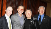 2012 Tony Brunch  Jack Feldman  Thomas Schumacher  Alan Menken  Harvey Fierstein
