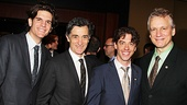 2012 Tony Brunch – Alex Timbers – Roger Rees – Christian Borle – Rick Elice