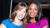 Jessie Mueller of On a Clear Day is thrilled to meet one of her idols, Porgy and Bess star Audra McDonald.