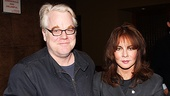 Two great stars of stage and screen: Philip Seymour Hoffman (Death of a Salesman) and Stockard Channing (Other Desert Cities).