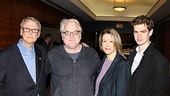 2012 Tony Brunch  Mike Nichols  Philip Seymour Hoffman  Linda Emond  Andrew Garfield