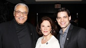 2012 Tony Brunch  James Earl Jones  Linda Lavin  Jeremy Jordan