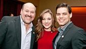 2012 Tony Brunch  Frank Wildhorn  Laura Osnes  Jeremy Jordan