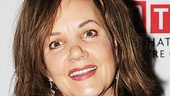 Margaret Colin, currently starring in MTC's The Columnist, takes a night off to enjoy the festivities.