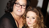 Original Love, Loss and What I Wore cast members Rosie O'Donnell and Natasha Lyonne reunite at the Women Behind Bars reading.