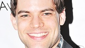 Newsies star Jeremy Jordan flashes his signature smile.  