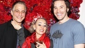 Lucky Tracie: a Broadway show, a Tony nomination and two handsome men (Tony Danza and co-star Tom Pelphrey). 