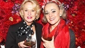 Also on hand to congratulate Tracie Bennett is lovely screen icon Tippi Hedren, star of Hitchcock classics The Birds and Marnie.