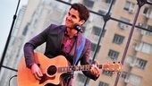 Criss does double duty as both the host and the musical entertainment at the awards!